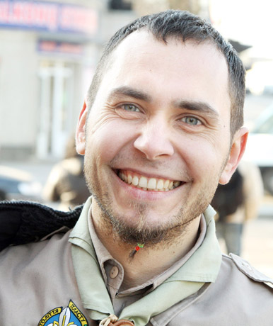 Sergejus STAPONKUS, šiaulietis mokytojas, skautas
